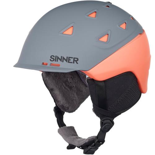 Sinner Stoneham Matte Grey/Orange (57 - 58 cm)
