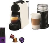 Magimix Nespresso Essenza Mini Wit + Melkopschuimer