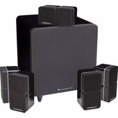 Cambridge Audio Minx Min 22 5.1 Set Zwart