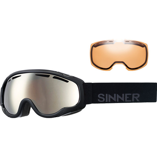 Sinner Fierce Matte Black + Orange Mirror & Double Orange Le