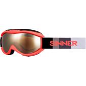 Sinner Toxic S Neon Orange + Orange Mirror Lens