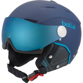 Bollé Backline Visor Soft Navy + Grey Blue & Lemon Vizier (54-56 cm)