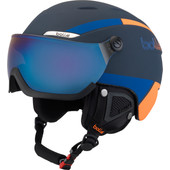 Bollé B-Yond Visor Navy/Orange + Grey Blue Aurora Vizier (58 - 61 cm)