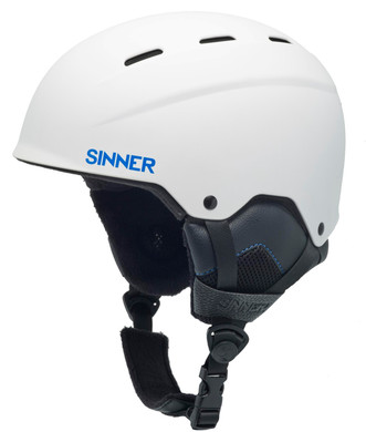 Sinner Typhoon Matte White (57 - 58 cm)