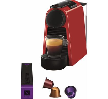 magimix nespresso essenza mini rood coolblue. Black Bedroom Furniture Sets. Home Design Ideas