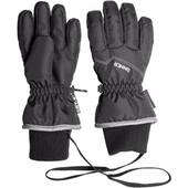 Sinner Phoenix Gloves Dry-S Kids 9-10 years Black/Grey