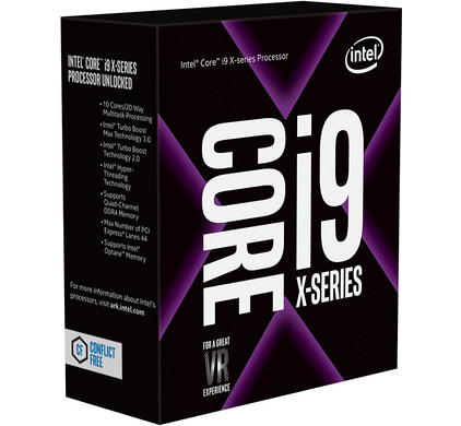 Intel i9 7900X Skylake X