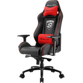 Sharkoon Skiller SGS3 Gaming Chair Zwart/Rood