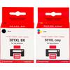 Huismerk 301 4-Kleuren voor HP printers (CR340EE)