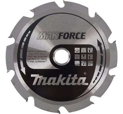 Makita Zaagblad HM hout 165x20x2.2mm 28T B-09612