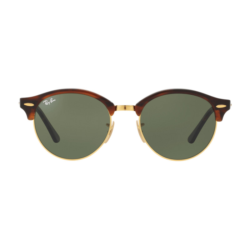 Ray-Ban Clubround RB4246 Red Havana / Green Lens