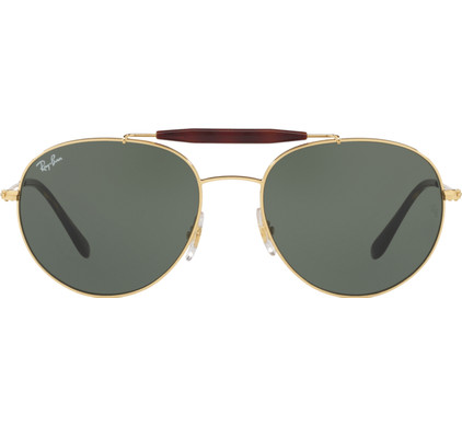 Ray-Ban RB3540 Gold / Green Lens