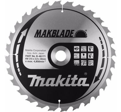 Makita Zaagblad 315x30x2,8 48T