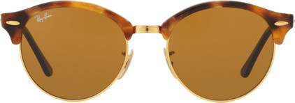 Ray-Ban Clubround RB4246 Spotted Brown Havana