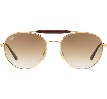 Ray-Ban RB3540 Gold / Brown Gradient Lens
