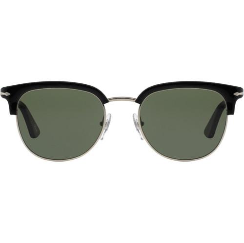 Persol PO3105S Black / Green Lens