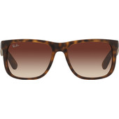 Ray-Ban Justin RB4165 Rubber Light Havana / Brown Gradient