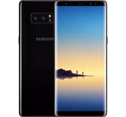 Samsung Galaxy Note 8 Zwart