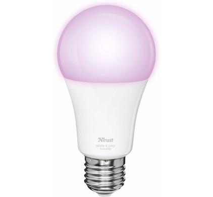 Trust Smart Home Dimbare E27 Led Lamp Kleur