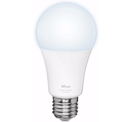Trust Smart Home Dimbare E27 Led Lamp Wit Licht