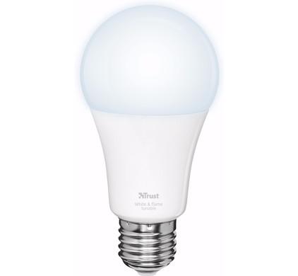 Trust Smart Home Dimbare E27 Led Lamp Wit Licht