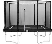 Salta Rechthoekig met Veiligheidsnet 152 x 213 cm Zwart