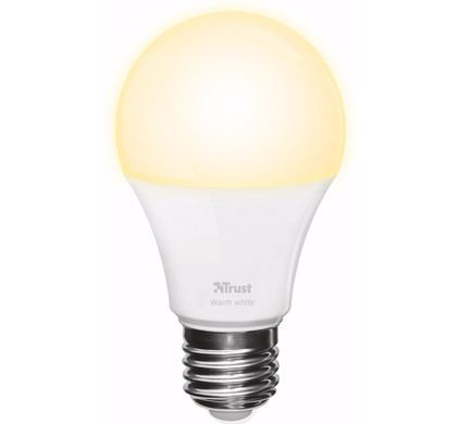 Trust Smart Home Dimbare E27 Led Lamp Helder Wit Licht