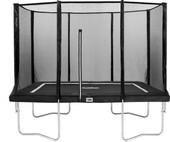 Salta Rechthoekig met Veiligheidsnet 213 x 305 cm Zwart