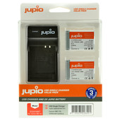 Jupio Kit: Battery NB-13L (2x) + USB Single Charger