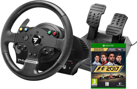 thrustmaster tmx force feedback f1 2017 xbox one coolblue. Black Bedroom Furniture Sets. Home Design Ideas