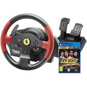 Thrustmaster T150 Ferrari Edition + F1 2017 PS4