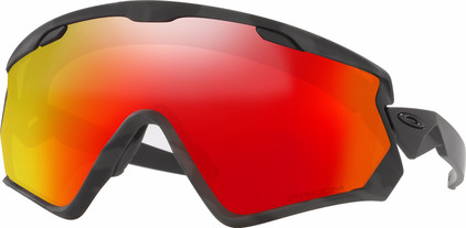 Oakley Wind Jacket 2.0 Night Camo + Prizm Snow Torch lens