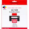 Huismerk LC-123 4-Kleuren Pack voor Brother printers (LC-123VALBP)