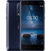 Nokia 8 Glanzend Blauw