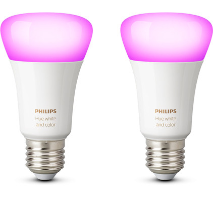 Philips Hue White and Color E27 Duopack