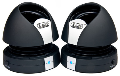 XM-I X-miniMax II Black Capsule Speaker