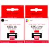 Huismerk 62XL 4-kleurenpack voor HP printers 4