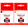 Huismerk 302 4-Kleuren XL voor HP printers