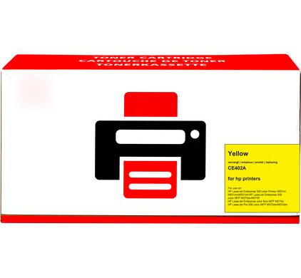 Huismerk 507A Toner Geel voor HP printers (CE402A)