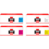 Huismerk CLT-P4072C 4-Kleuren Pack voor Samsung printers