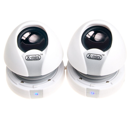 XM-I X-miniMax II White Capsule Speaker