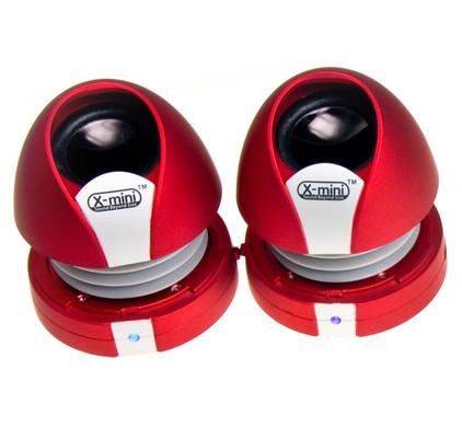 XM-I X-miniMax II Red Capsule Speaker
