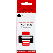 Huismerk CLI-551XLBK Zwart voor Canon printers (6443B001)