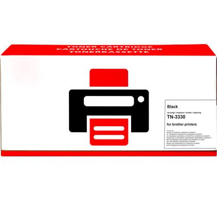 Huismerk TN-3330 Toner Zwart voor Brother printers (TN-3330)