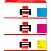 Huismerk 126A Toner 3-Kleuren voor HP printers (CF341A)