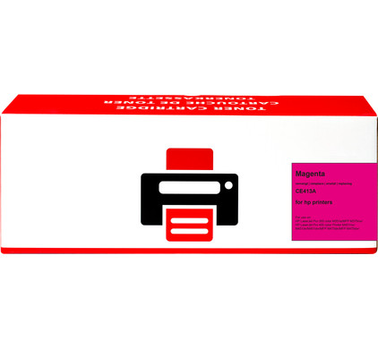 Huismerk 305A Toner Magenta voor HP printers (CE413A)