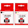 Huismerk 540/541XL 4-Kleuren Pack voor Canon printers (5225B006)