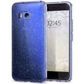 Spigen Liquid Crystal Glitter HTC U11 Back Cover Transparant