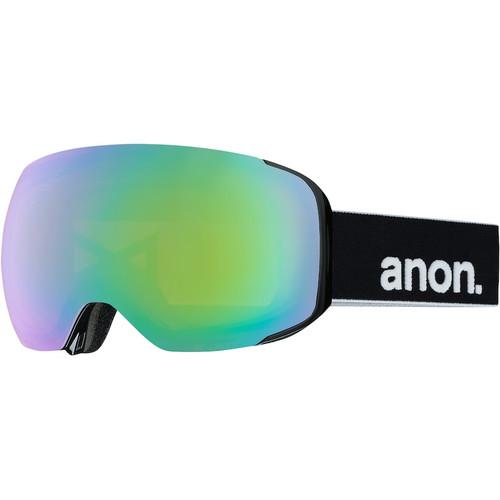 Anon M2 Black + Sonar Green Lens