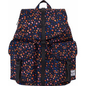 Herschel Dawson X-Small Black Mini Floral/Black Synthetic Leather